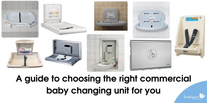 A guide to choosing the right commercial baby changing unit for you