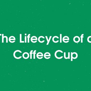 The lifecycle of a coffee cup