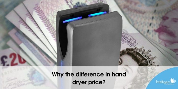 Why the difference in hand dryer price?